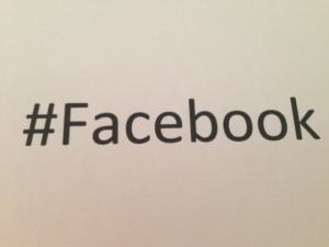 hahstags en Facebook