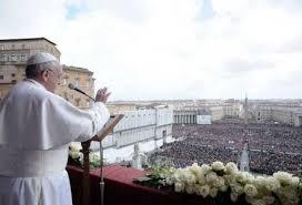 Bendición Papa Francisco en la Plaza de San Pedro